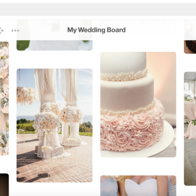How to Use Pinterest to Design Your Wedding