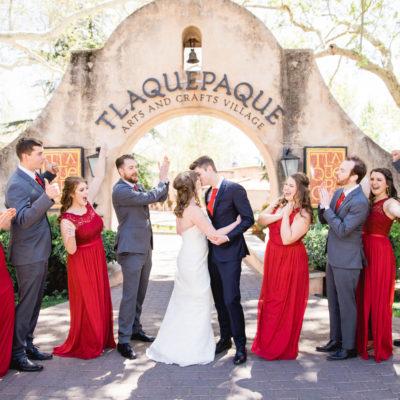 Ashlyn & Jacob's Wedding Casey Green Weddings, Sedona Arizona