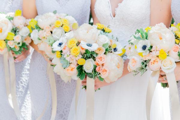 Jordan and Sean Wedding Royal Palms Floral bouquest